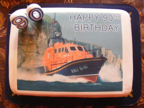 Lifeboats Cake