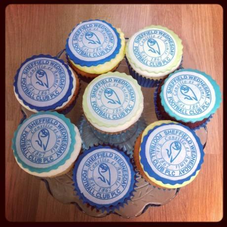 Sheffield Wednesday Cupcakes