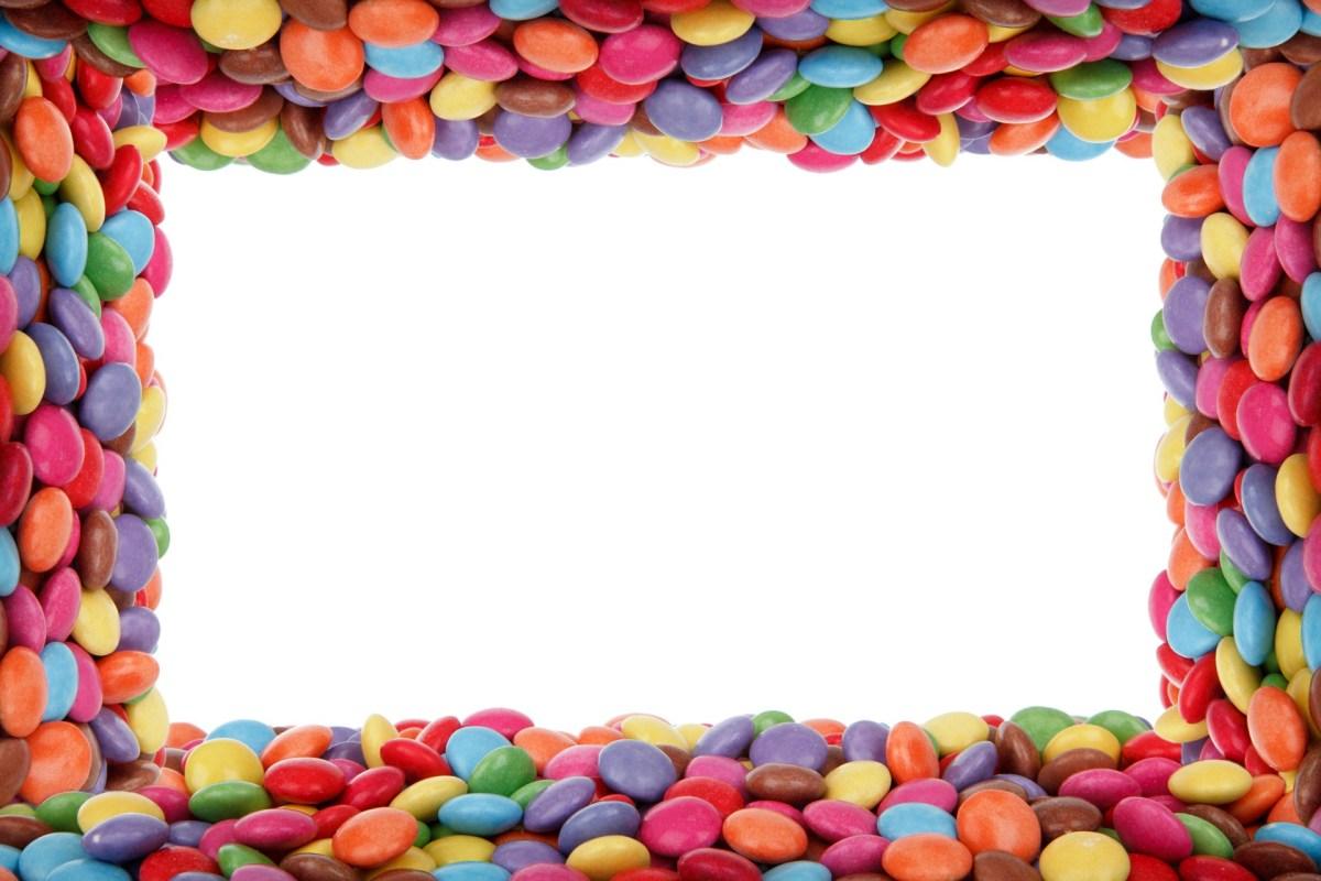 Candy frame border
