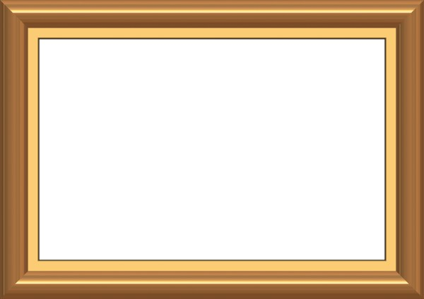 Golden frame border