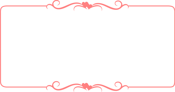 Romantic frame border