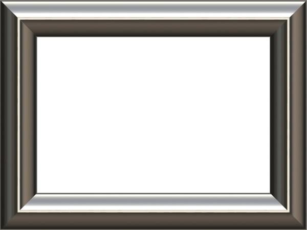 Silver frame border