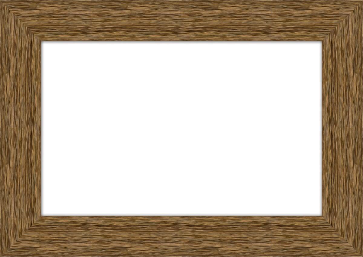 Wooden frame border