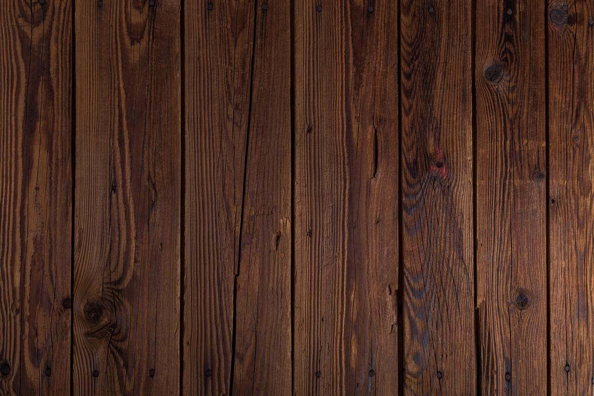Rustic wooden planks wall