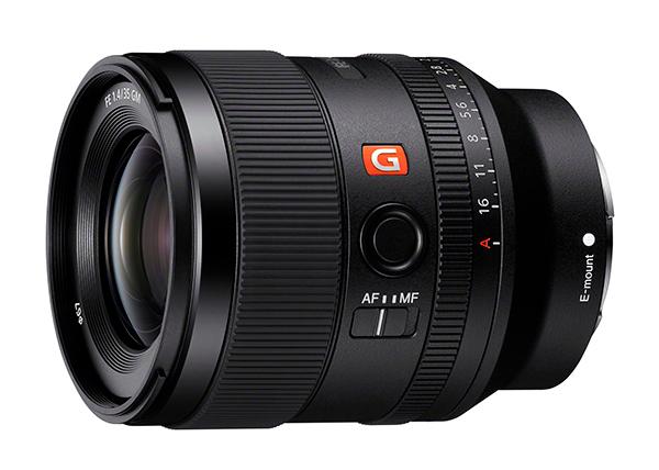 Sony SEL35F14GM lens