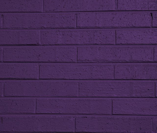 Dark Purple Painted Brick Ball Texture