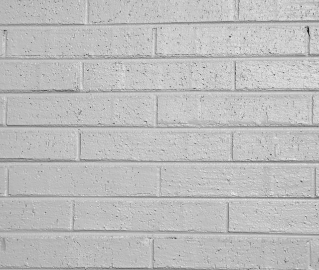 Gray Painted Brick Wall Texture