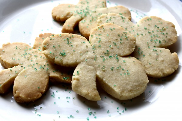 Shamrock Sugar Cookies for Saint Patrick's Day - Free High Resolution Photo