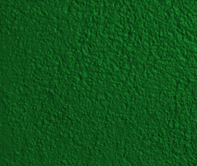 Kelly Green Painted Wall Texture