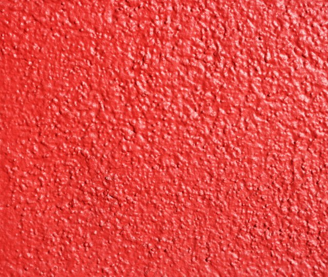 Red Painted Wall Texture