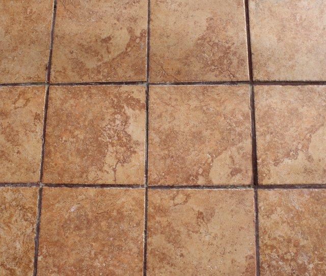 Light Brown Floor Tiles Texture
