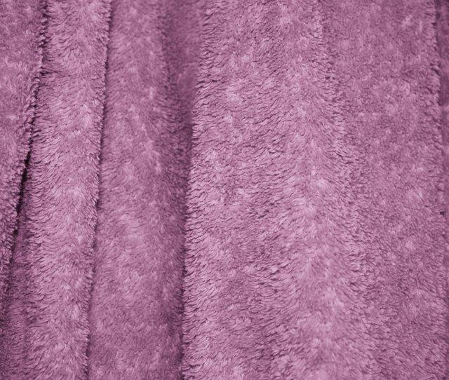 Mauve Terry Cloth Bath Towel Texture