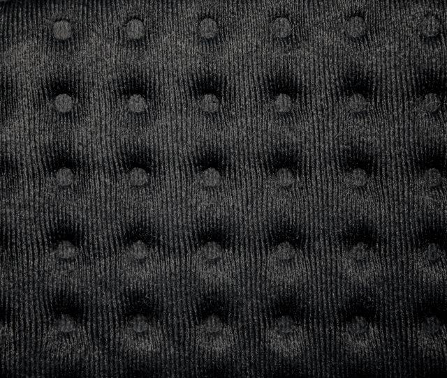 Black Tufted Fabric Texture
