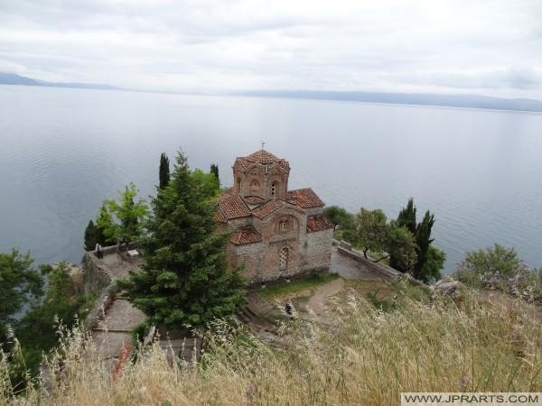 Kościół nad jeziorem Ohrid (Macedonia)
