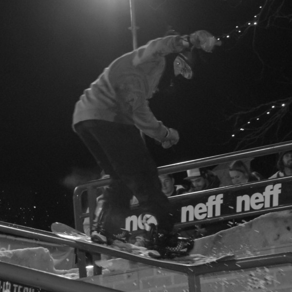 Rididng the rail with Max de Vries