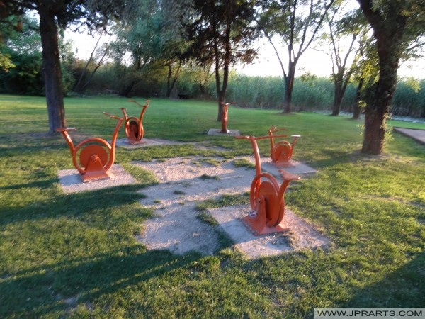 Холандски парк во Охрид (Македонија)