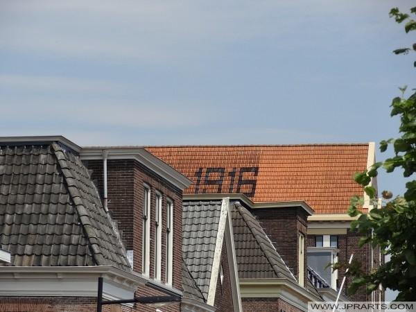 Dach Spichlerza (1916) w Assen, Holandia