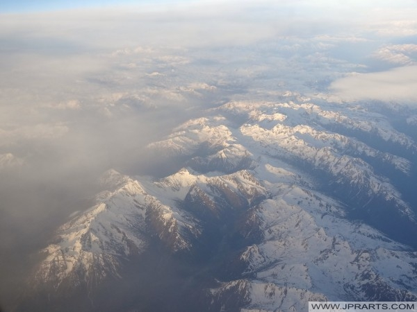 Aerial Photos of the Alps