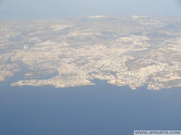 Aerial View of Sliema and Saint Julian's, Malta