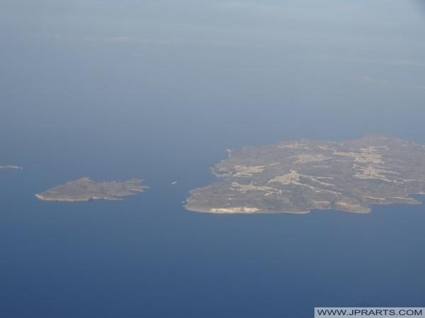 Comino, North Comino Channel and Gozo (Malta)