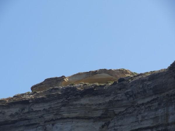 Krokodil szikla Dwejra (Gozo, Málta)