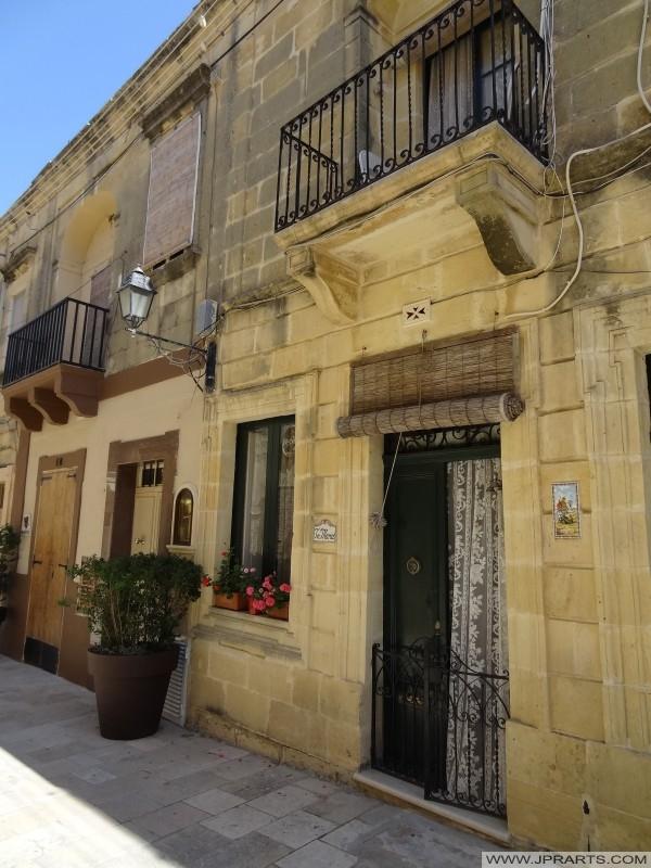 Häuser in Victoria (Gozo, Malta)