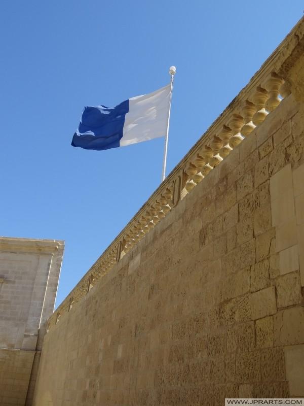 Marian Vlajka na Citadele Gozo (Victoria, Malta)