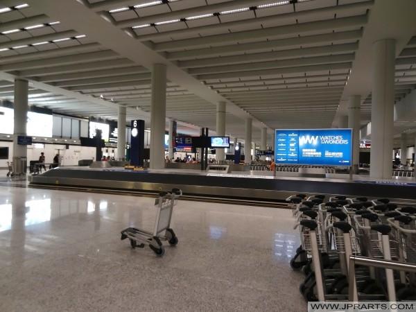 багажа площадь претензии в международном аэропорту Гонконга