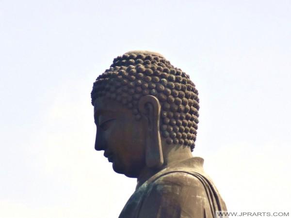 हांगकांग में बड़ी बुद्ध के सिर