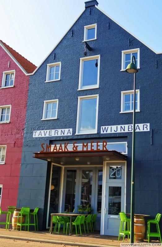 Smaak & Meer taverna en wijnbar in Maassluis, Nederland