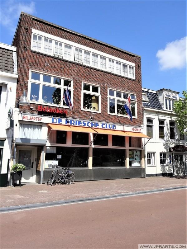 De Friesche Club (Biljarten en Kegelen in Leeuwarden, Friesland)