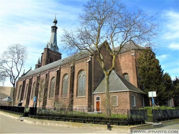 Heikese Kerk in Tilburg, Nederland
