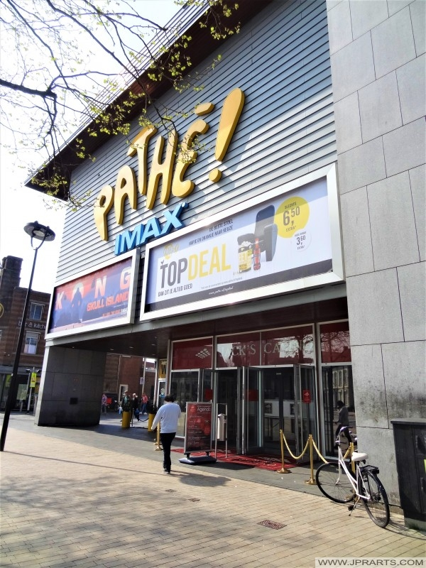 Pathé Bioscoop in Tilburg, Nederland