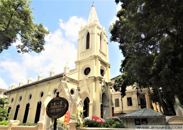 Our Lady of Lourdes Church on Shamian Island (Guangzhou, China)