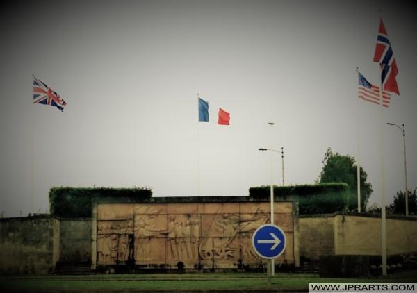 Monument Général de Gaulle à Bayeux, France