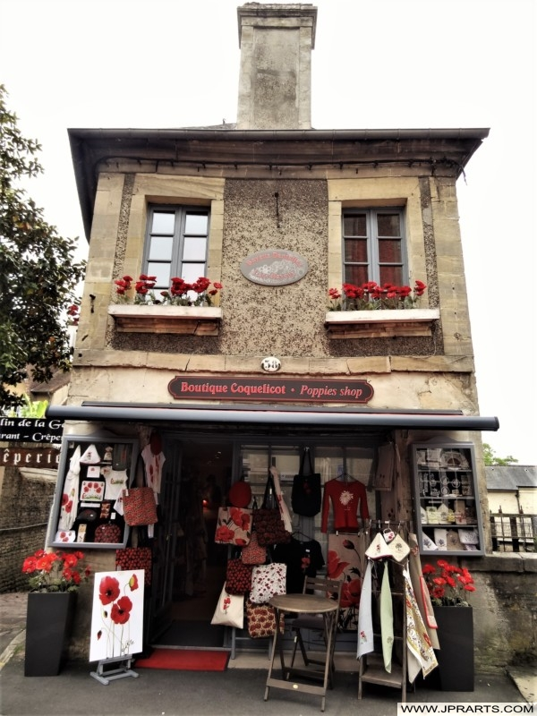 Boutique Coquelicot - Poppies Shop (Bayeux, France)