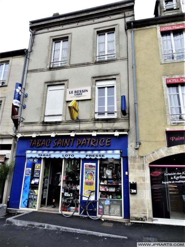 Tabac Saint Patrice à Bayeux, France