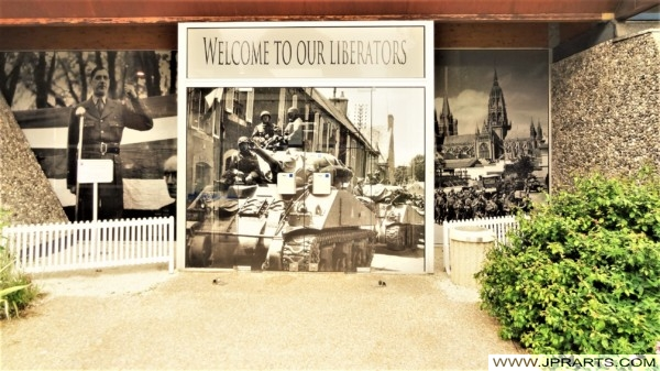 Welcome To Our Liberators (Bayeux, France)