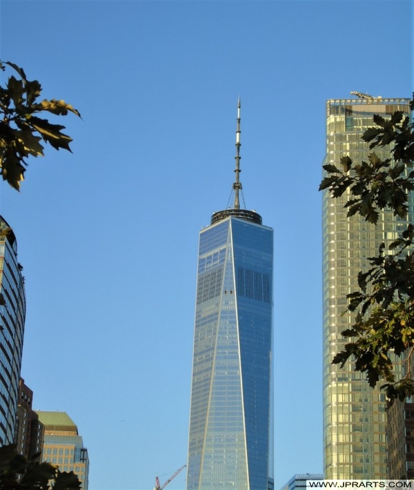 One World Trade Center seen from The Battery (New York, USA)