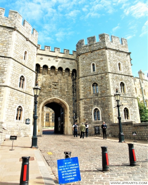 Security at Windsor Castle in the UK