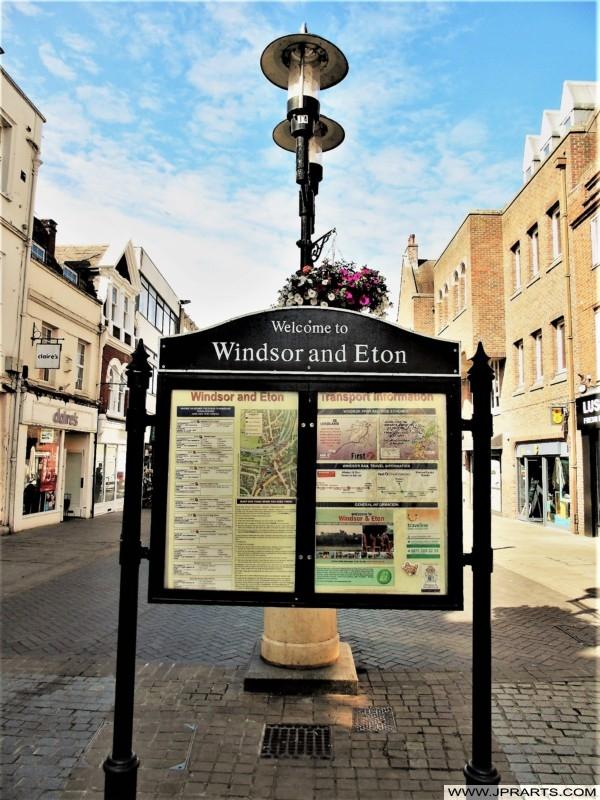Windsor and Eton in Berkshire, UK