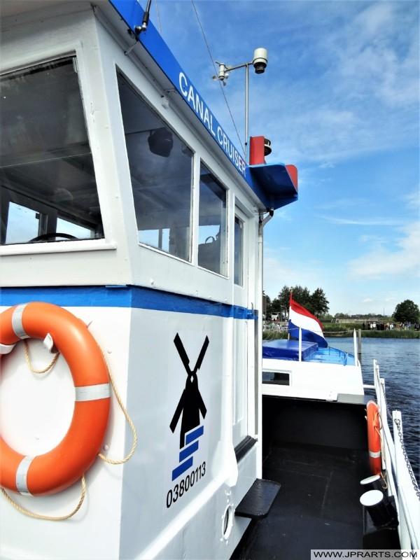 Canal Cruiser in Kinderdijk, The Netherlands