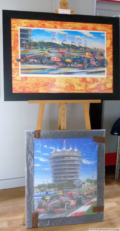 Bahrain Grand Prix Art