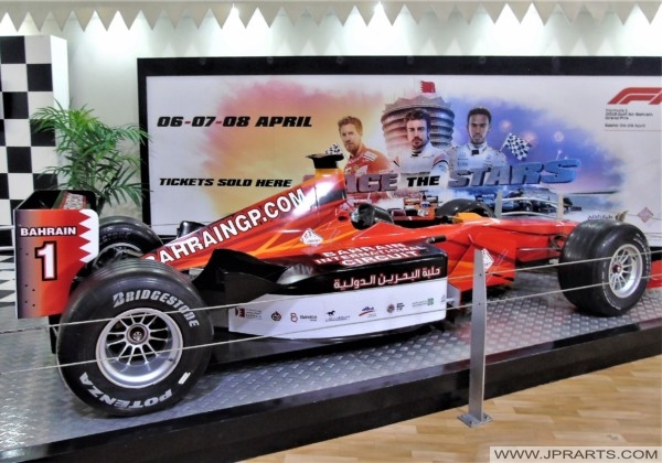 Formula One Car in Bahrain