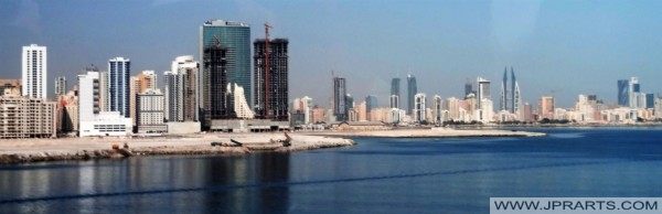 Skyline of Manama, Bahrain
