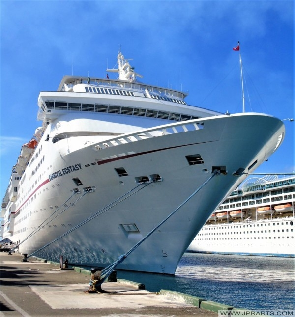 Bow of the Carnival Ecstasy
