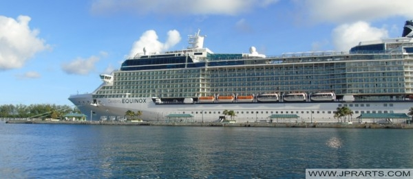Celebrity Equinox in Nassau, Bahamas