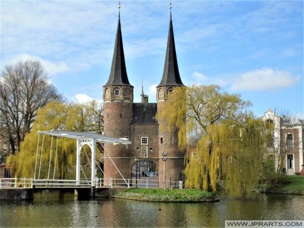Oostpoort in Delft, The Netherlands