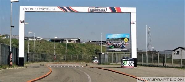 Main Entrance Circuit Zandvoort, Netherlands