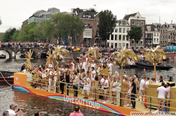 Canal Parade Amsterdam 2019